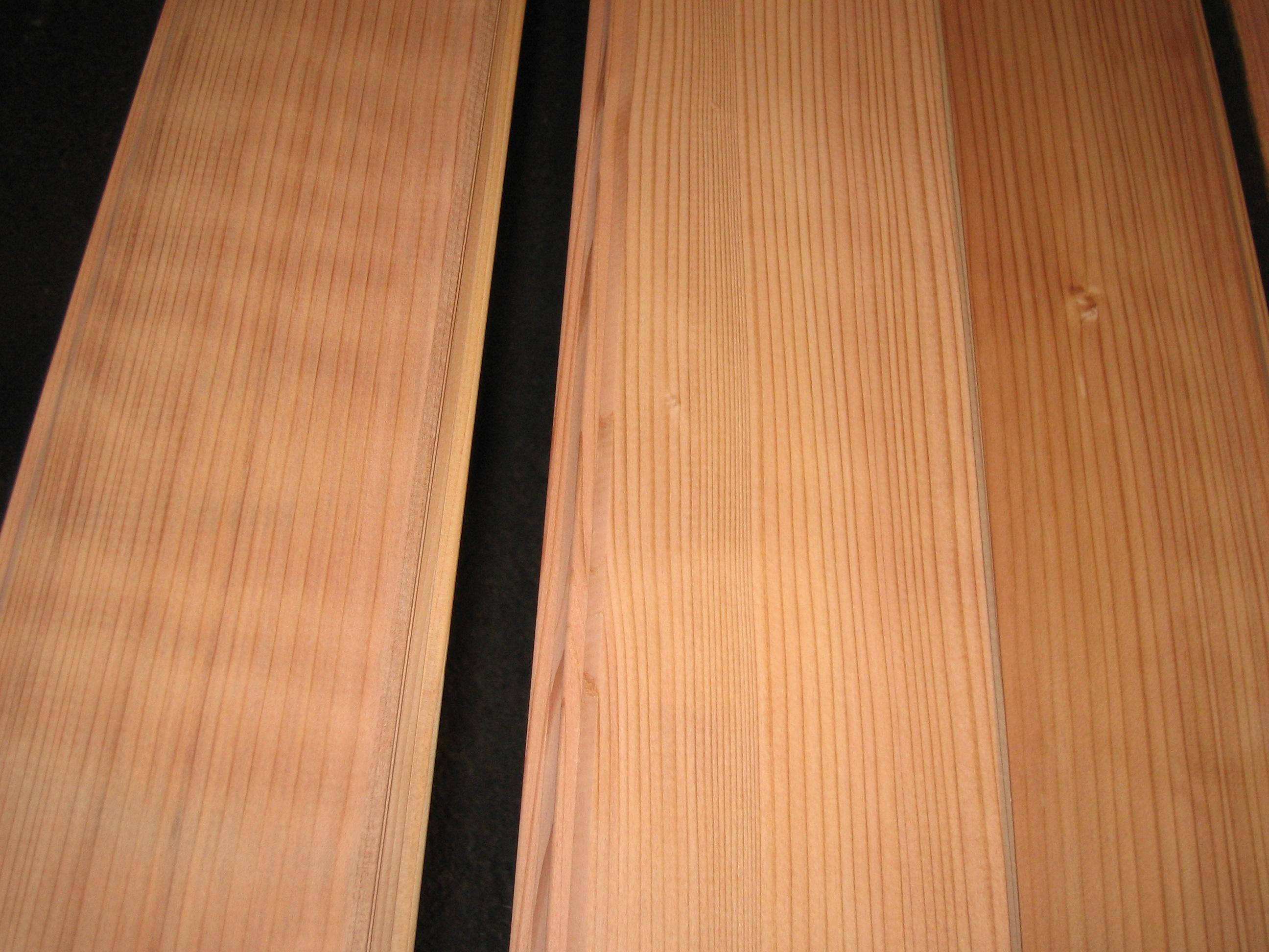 Redwood Vs Cedar >> Clear All Heart Vertical Grain California Redwood