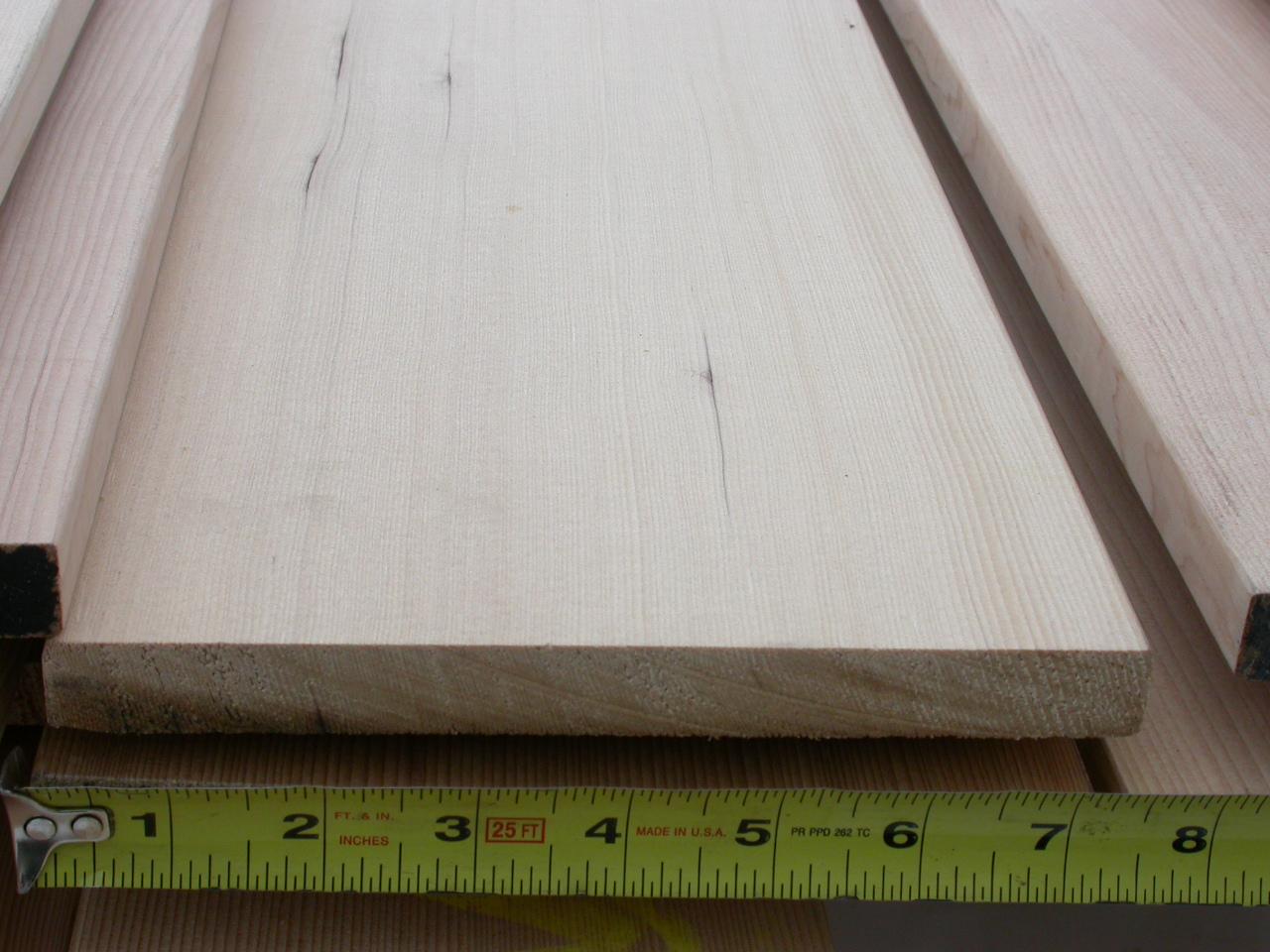Clear Vertical Grain Grade Hemlock Bear Creek Lumber