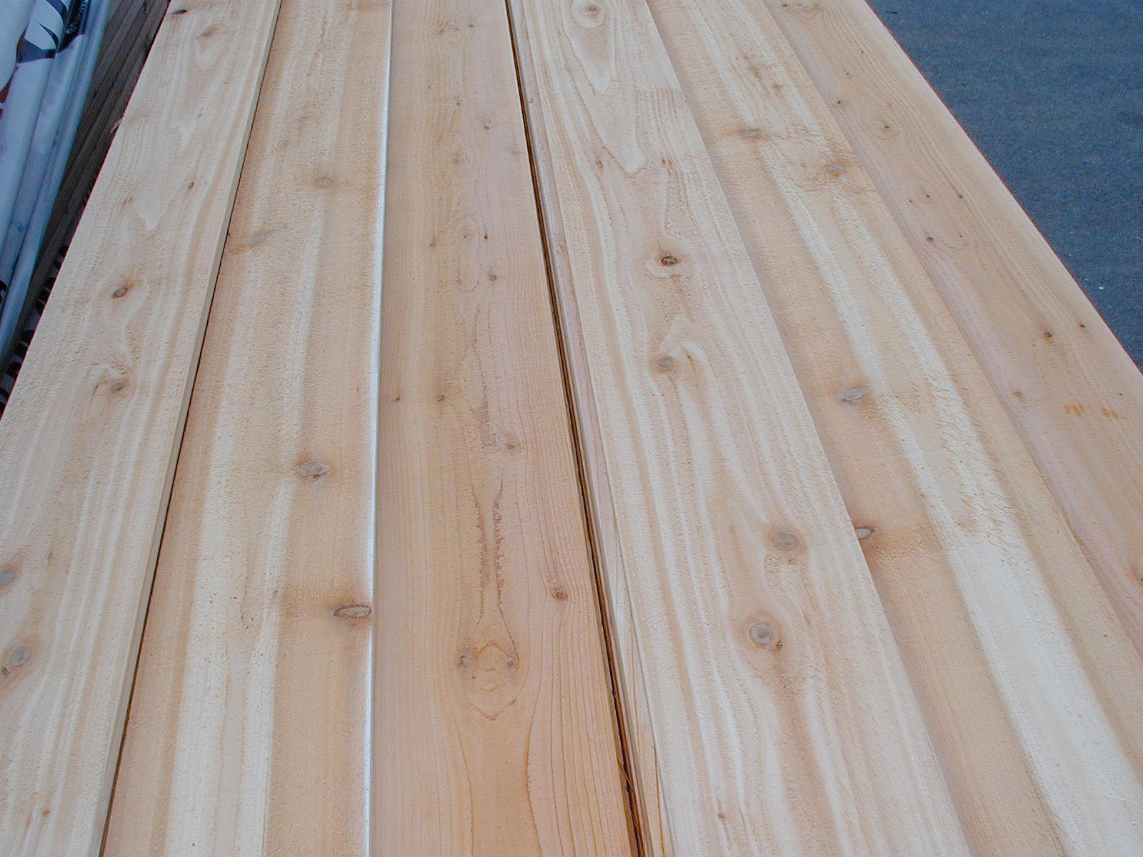 SELECT TIGHT KNOT : WESTERN RED CEDAR