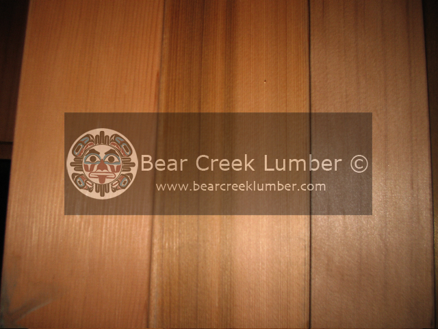 Western Red Cedar : CLEAR VERTICAL GRAIN CEDAR SAMPLE