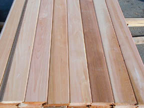 Bear Creek Lumber Western Red Cedar Paneling And