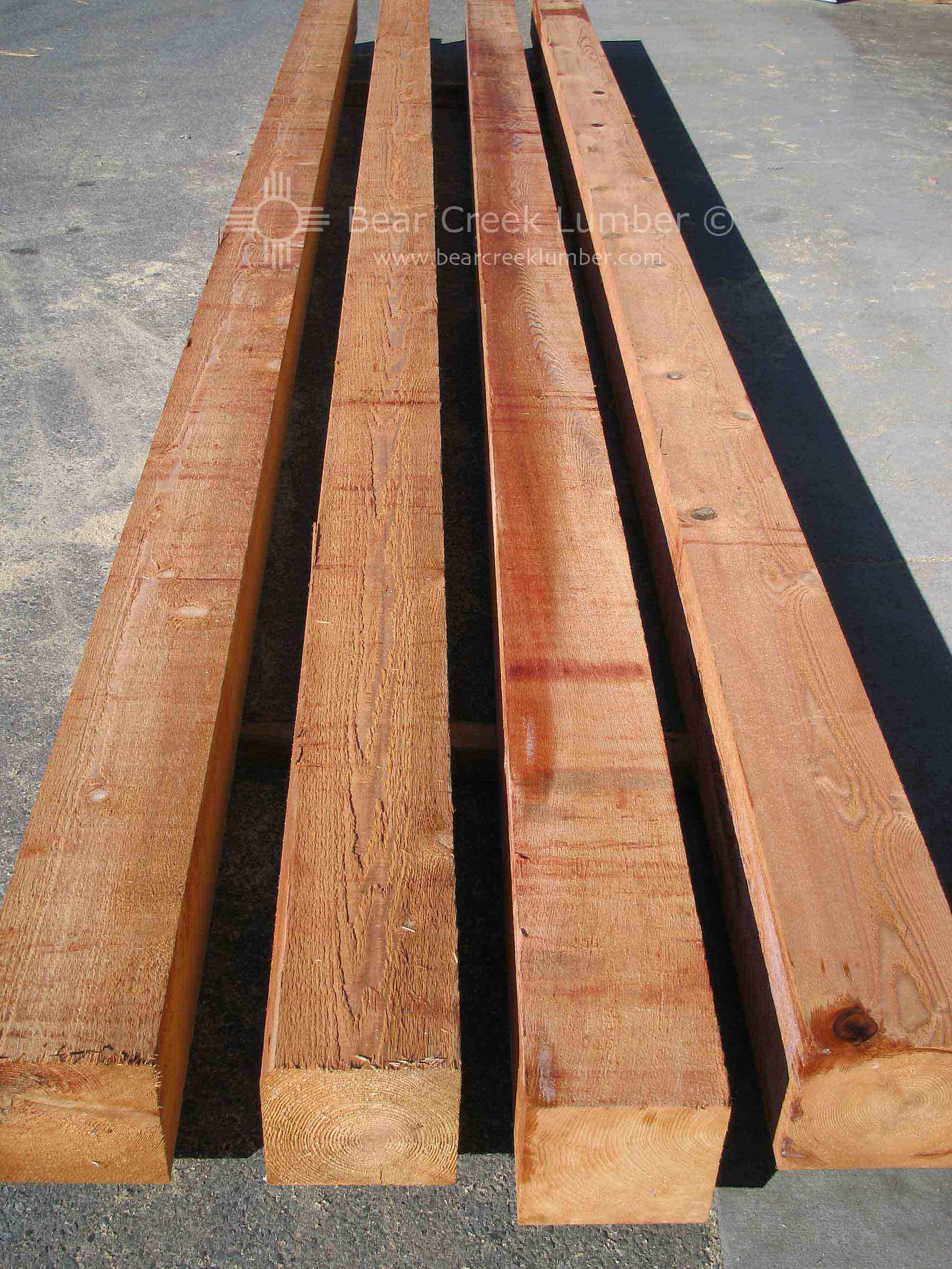 Bear Creek Lumber Western Red Cedar Post Amp Beams