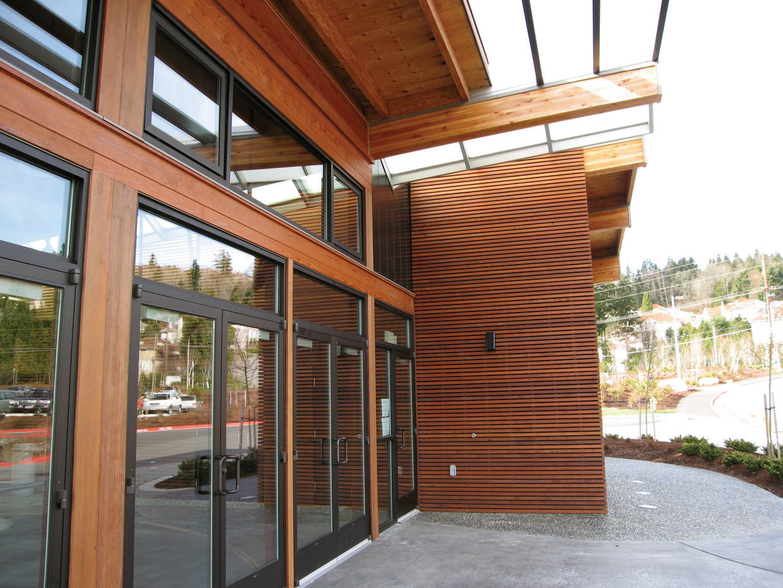 Bear Creek Lumber Featured Projects Lewis Creek Rec Center