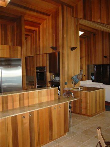 Western Red Cedar Interior Paneling Bear Creek Lumber