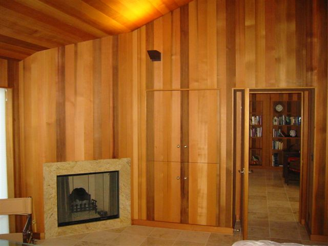 Western Red Cedar Interior Paneling Bear Creek Lumber
