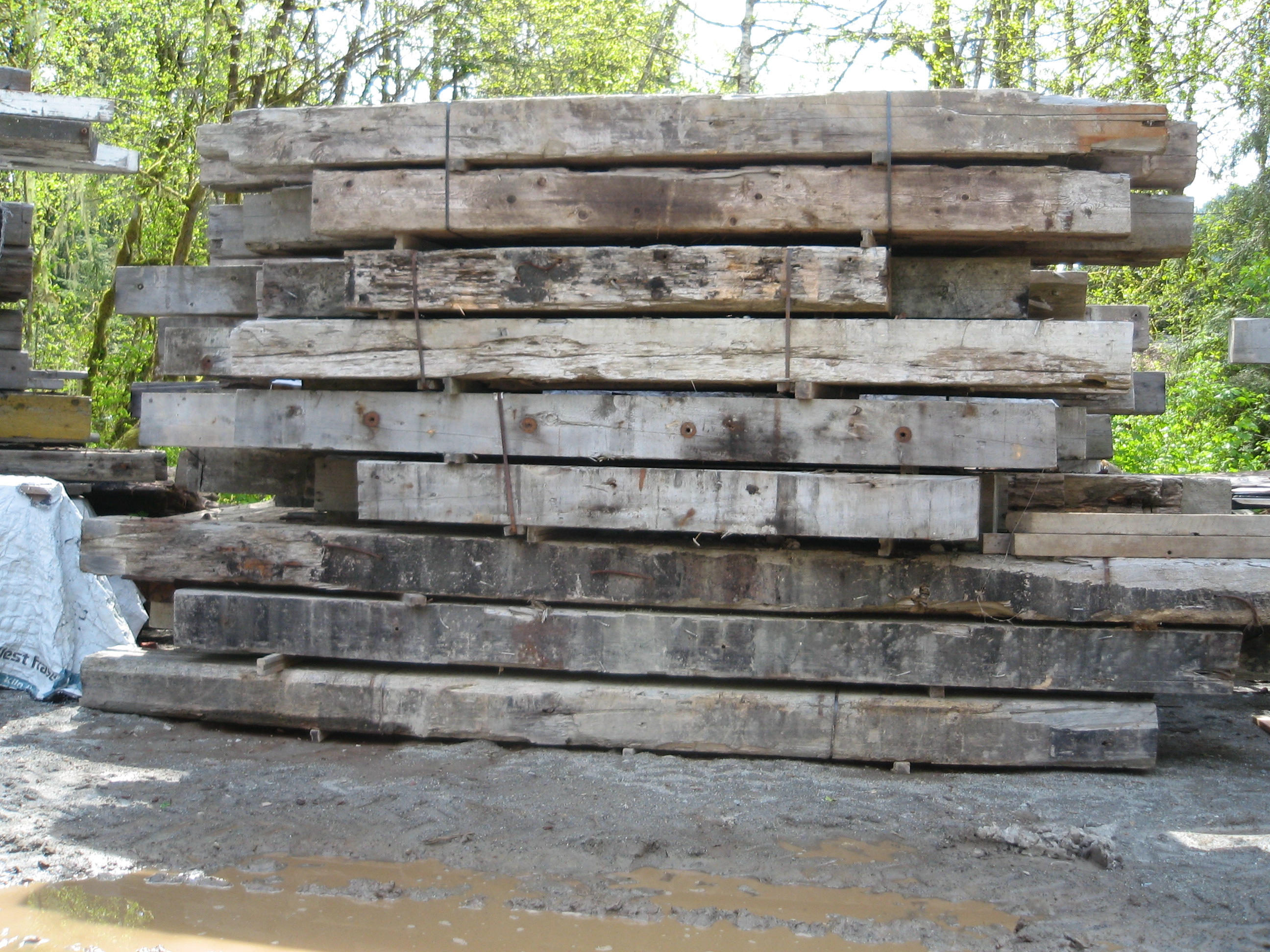 Reclaimed And Recycled Lumber Bear Creek Lumber
