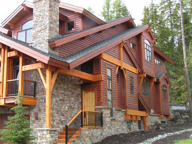 Exterior Siding Western Red Cedar Bevel Clear Vertical Grain