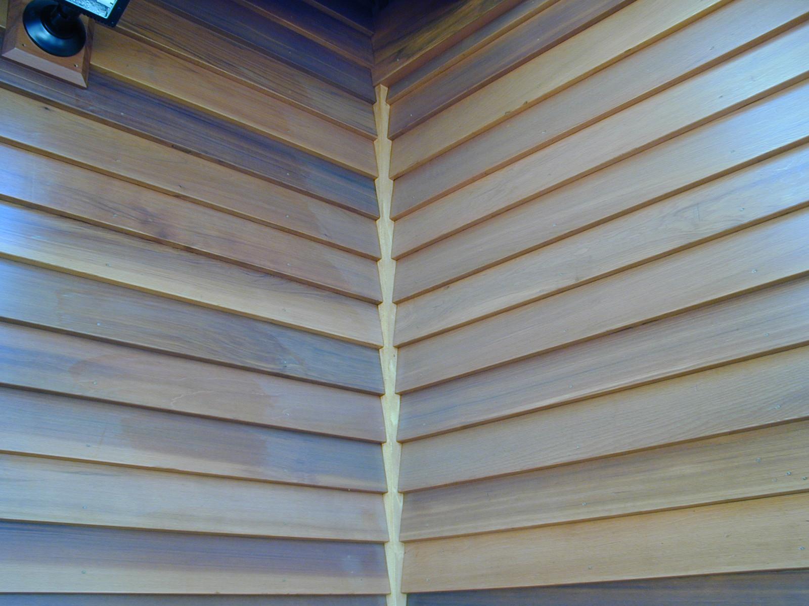 Exterior Siding Western Red Cedar Bevel Clear Grain