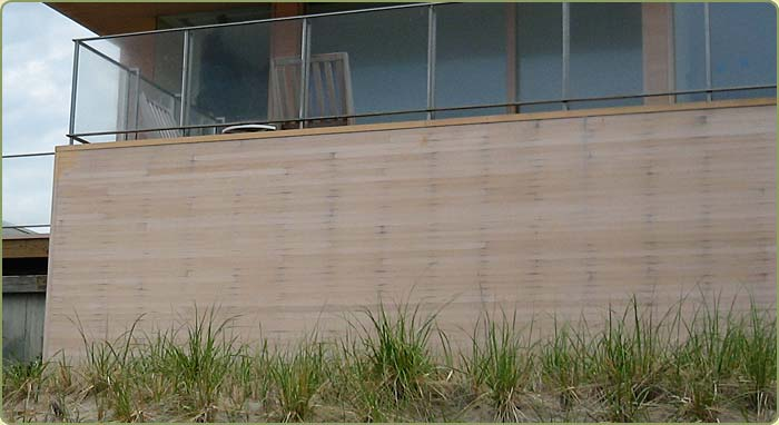 alaskan yellow cedar siding ruined by the use of corrosive fasteners