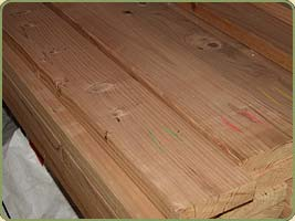 2x6 redwood boards image