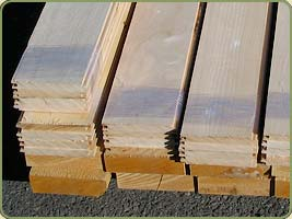 IMAGE OF tongue and groove port orford cedar BOARDS PRODUCT NUMBER 11198