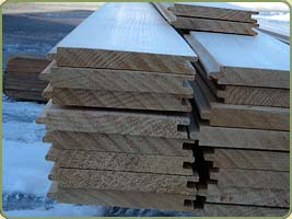 IMAGE OF ROUGH CUT port orford cedar BOARDS PRODUCT NUMBER 11198