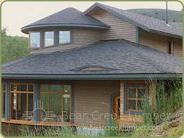 red cedar channel siding