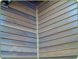 red cedar bevel siding