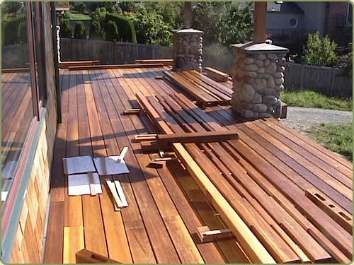 Decking Western Red Cedar
