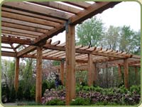 WESTERN RED CEDAR : POST AND BEAM : LUMBER PRODUCTS