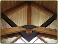 recycled douglas fir beams
