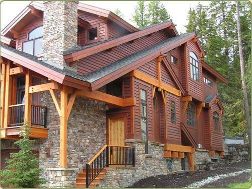 Exterior Siding Western Red Cedar Bevel Clear Vertical