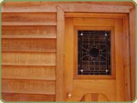 western red cedar trim icon