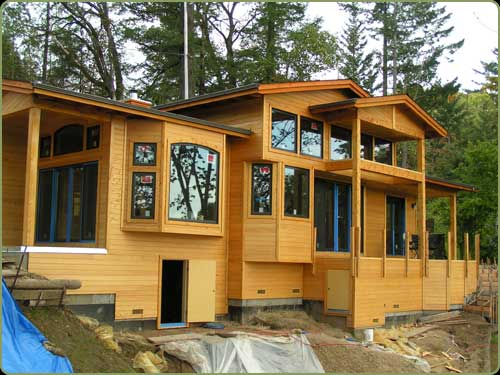 large image with port orford cedar siding