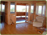 port orford cedar interior paneling