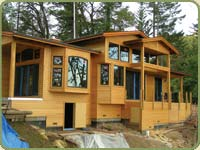 port orford cedar siding