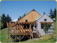 a house built completely with bear creek lumber package