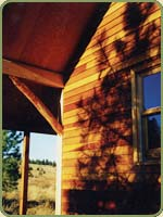 red cedar siding image